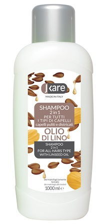Shampoo olio di Lino 2in1 1000 ml