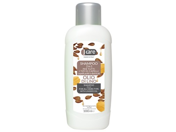 2in1 Shampoo Linseed oil 1000 ml