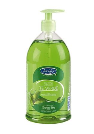 Sapone liquido tè verde con antibatterico 1000 ml