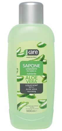 Ricarica sapone liquido Aloe vera 1000 ml