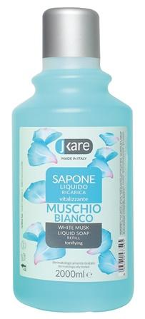 Ricarica sapone liquido Muschio bianco 2000 ml