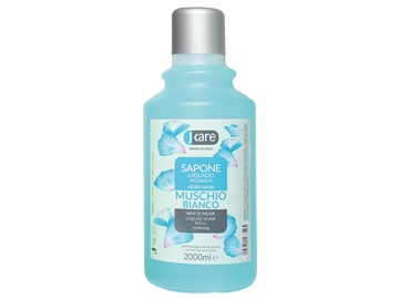 Recarga de jabón líquido Almizcle blanco 2000 ml